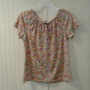American Living peasant top